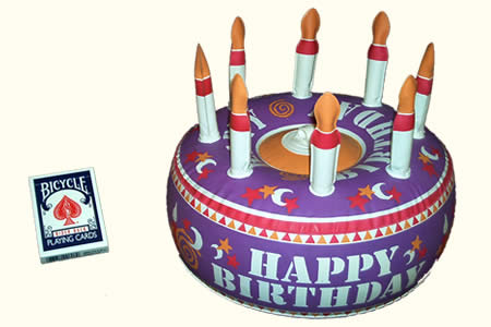Inflatable Birthday Cake