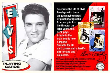 Elvis BICYCLE Deck (color)