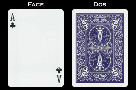Ace of Clubs Index Only BICYCLE Card