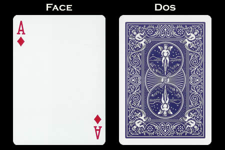 Ace of Diamonds Index Only BICYCLE Card
