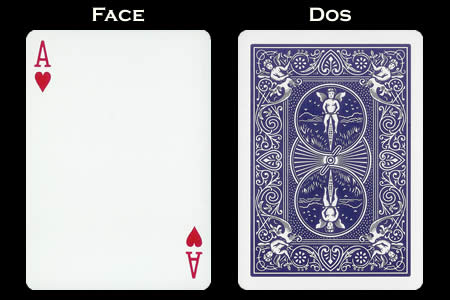 Ace of Hearts Index Only BICYCLE Card