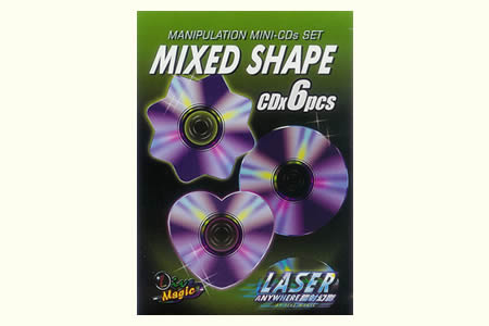 Manipulation mini CDs set - Mixed Shape