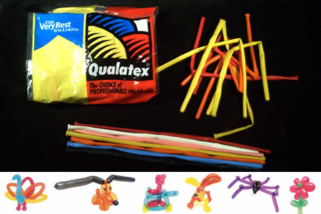 Ballons Qualatex 260 (8 Sachets + 2 Offerts)