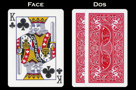 King of Clubs BICYCLE Card with Extension Back