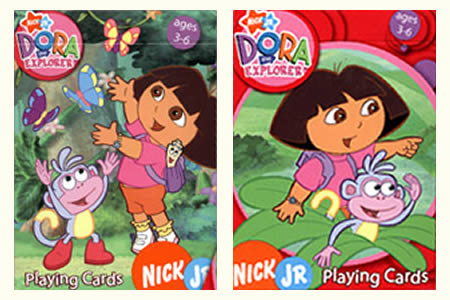 BICYCLE Dora the Explorer Deck Pack