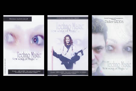 Lote Techno Magic - New Song of Magic (3 DVDs)