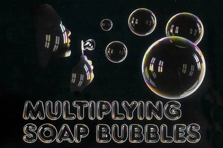 Multiplying soap bubble (Vernet)