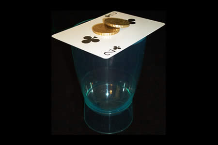 Two Coins thru card 50 cts. €