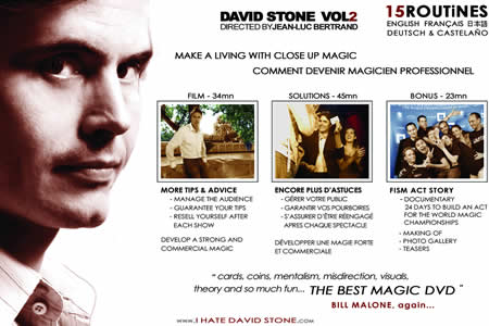 DVD The Real Secrets of Magic Vol2 (D. Stone)