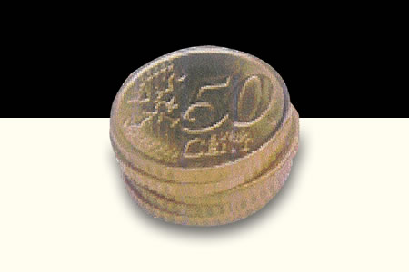 Stack Of Coins 50 cts d'Euro