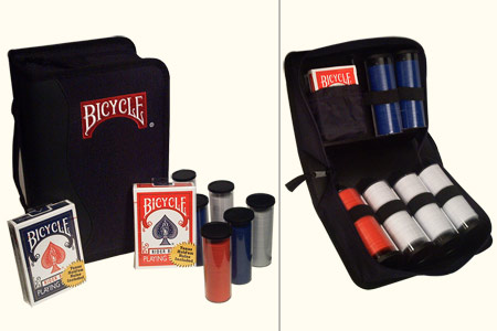Mallette Tissu Bicycle Premium Poker Portfolio