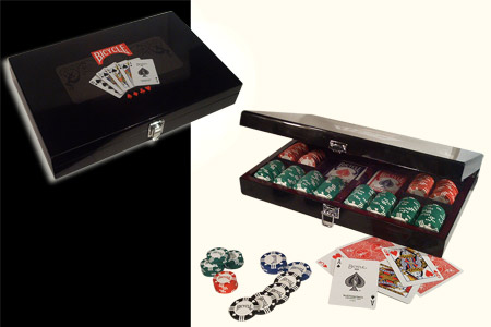 Maleta 300 fichas de poker BICYCLE Masters Poker S