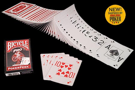 Pro Poker Peek BICYCLE Deck