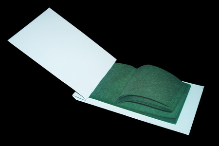 Flash Paper booklet - Green (5 x 8 cm)