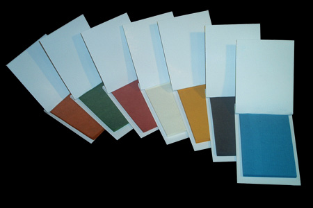 Lot de Carnets Papier Flash (7 couleurs)