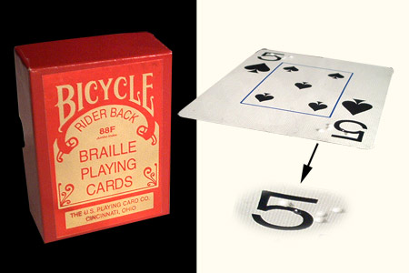 Baraja BICYCLE Braille