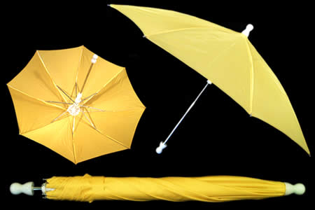 Yellow appearing umbrella - unit