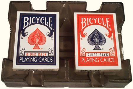 tour de magie carte bicycle