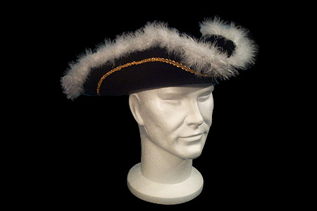 Pirate hat with pelt
