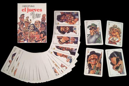 FOURNIER deck with caricatures