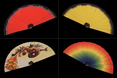 Color Changing Fan Mini (dragon)