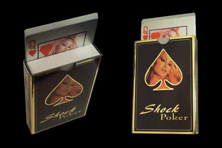 Shock deck of cards