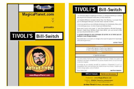 DVD & Booklet Bill-Switch