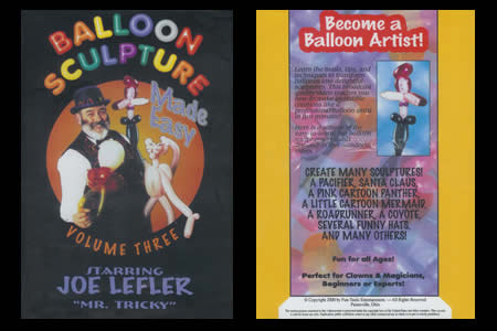 DVD Balloon Sculpture Made Easy vol.3