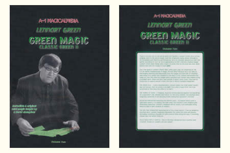 DVD Green magic - Classic Green 2