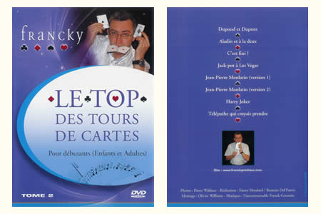 DVD Le Top des tours de cartes (Vol.2)