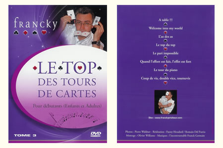 DVD Le Top des tours de cartes (Vol.3)