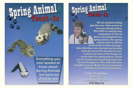 DVD Spring animal – Teach-in (S. Kirchner)