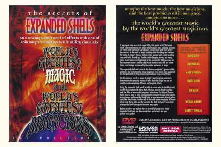 DVD The Secrets of Expanded Shells