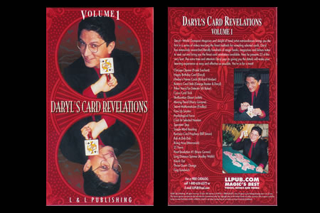 Dvd Daryl's Card Revelations Vol.1