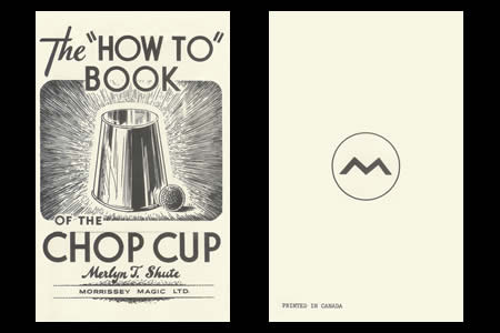 The how to book of the chop cup