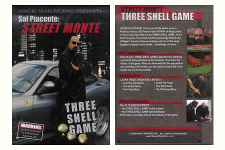 Dvd 'Three Shell Game'