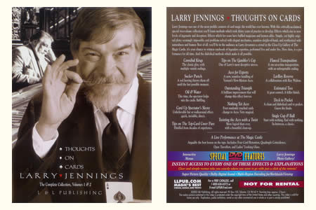 DVD 'Thoughts on Cards' (Larry Jennings)