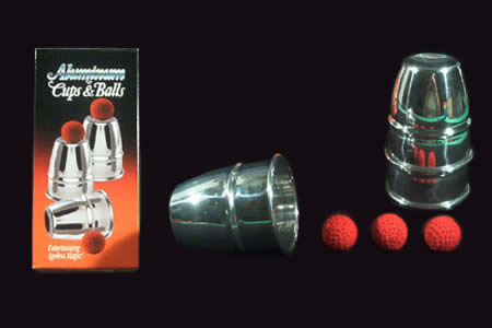 Aluminium cups (with 4 balls)