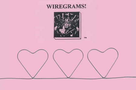 WireGram 3 of Hearts