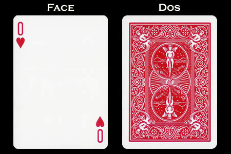 0 of Hearts BICYCLE Card