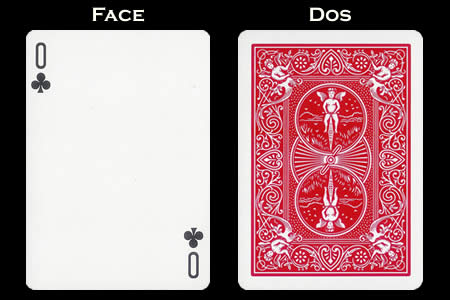 0 of Clubs BICYCLE Card
