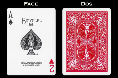 Double Index BICYLCE Card - Ace of Spades