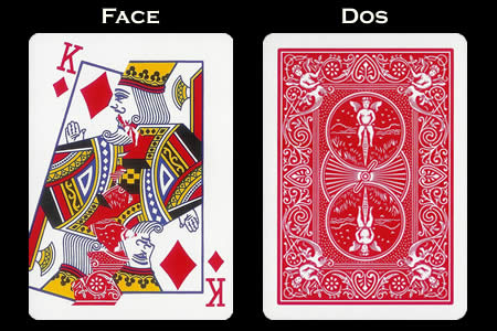 Shattered King of Diamonds BICYCLE Card