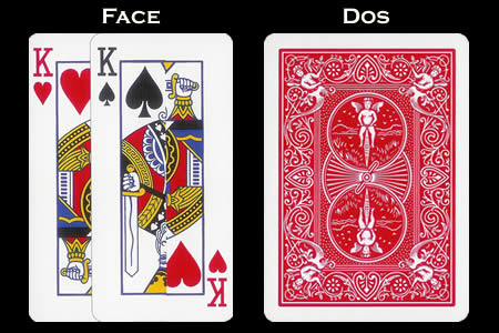 BICYCLE Card With King´s Extension Face