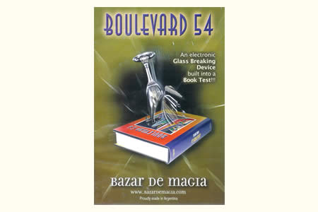 Glass breaking book (Boulevard 54)