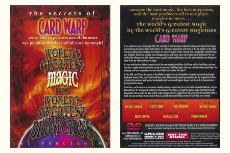 DVD The Secrets of Card Warp