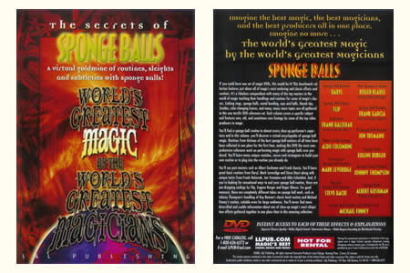 DVD The Secrets of Sponge Balls