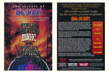 DVD The Secrets of Ring on rope