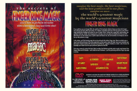 DVD The Secrets of Finger ring magic