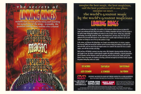 DVD The Secrets of Linking rings